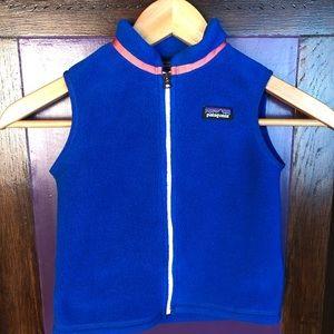 Patagonia Synchilla 4T Reg Vest Jacket Blue